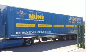 8 neue moderne Koffertrailer für Michelin