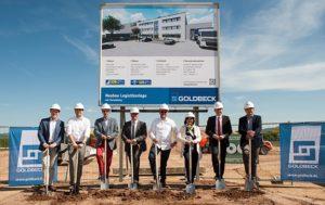 Neues Logistikzentrum für LDB