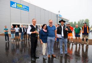 Neues LDB-Logistikzentrum nimmt Formen an