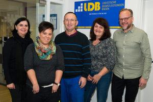 LDB ehrt Mitarbeiter für langjährige Betriebszugehörigkeit